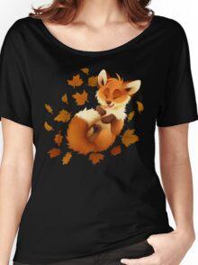 Playful Fox Women's Relaxed Fit T-Shirt