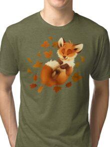 Playful Fox Tri-blend T-Shirt