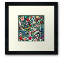 tropical fun nature  Framed Print