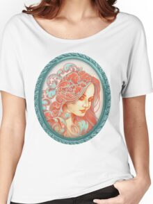 Filigree Face Women's Relaxed Fit T-Shirt