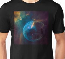 Outer Space Bubble Nebula space exploration Unisex T-Shirt