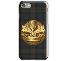 Outlander plaid and Thistle.  iPhone Case/Skin