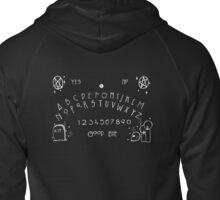 Gabbling With Ghosts Zipped Hoodie