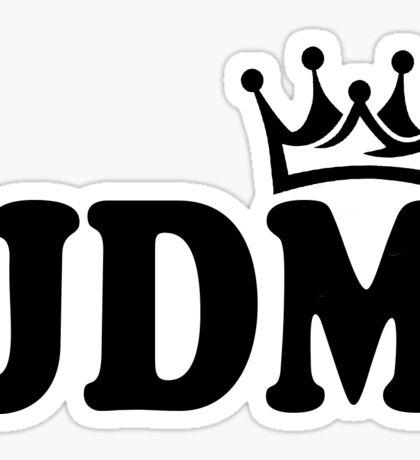 JDM Crown Sticker