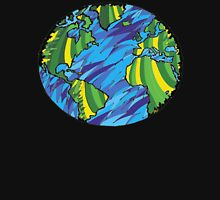 Earth, Planet Earth, Green Planet Unisex T-Shirt