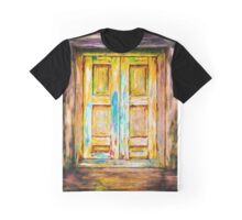 Tuscany Shutters Graphic T-Shirt