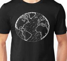 Earth, Planet Earth, Green Planet Negative Unisex T-Shirt