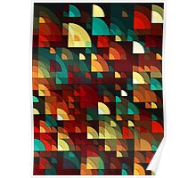 Abstract Fish Scales  Poster