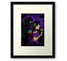 Void Vincent and Violet Framed Print