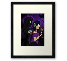 Void Vincent and Violet Framed Print