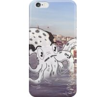 Imaginary Octo-Friend by Kale Atterberry iPhone Case/Skin