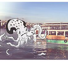Imaginary Octo-Friend by Kale Atterberry Photographic Print