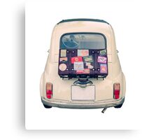 Vintage Euro Road Trip Car Canvas Print