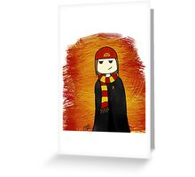 Gryffindor Charlie Greeting Card