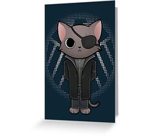 Nick Furry - director of S.H.I.E.L.D. Greeting Card