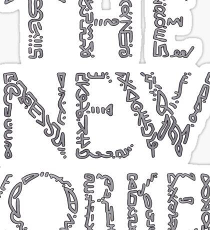 The New Yorker Sticker