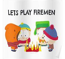 Let Play Firemen Poster