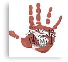 Wayward Son Handprint Canvas Print