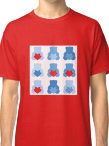 Cute Love Teddy Bear collection Classic T-Shirt