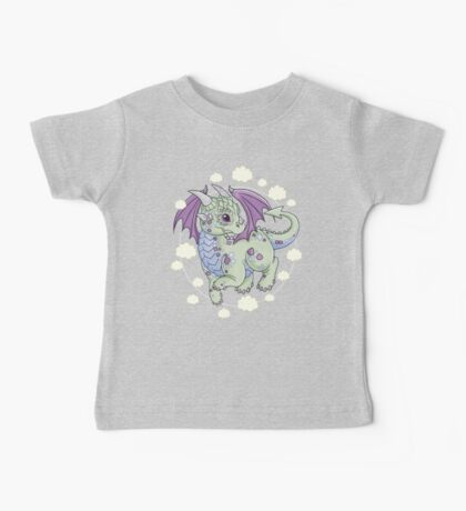 Dragon in the Clouds Baby Tee