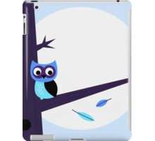 Halloween background with Owl iPad Case/Skin