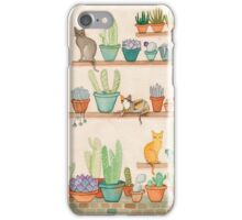 Cats and Cacti iPhone Case/Skin