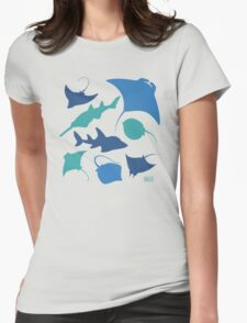 Rays! Womens Fitted T-Shirt