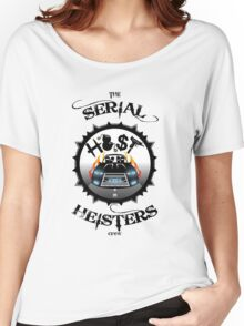 THE SERIAL HEISTERS CREW BLACK Women's Relaxed Fit T-Shirt
