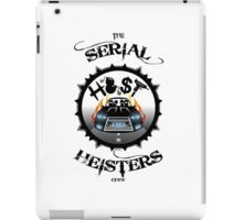 THE SERIAL HEISTERS CREW BLACK iPad Case/Skin