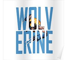 Wolverine Text Poster