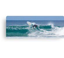 Surfer Cutback Puerto Rico Canvas Print