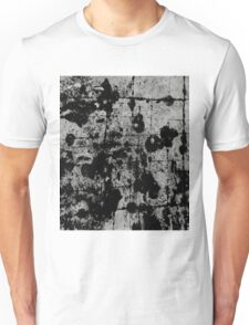 Textured Contrast 1 - Study In Black And White Unisex T-Shirt