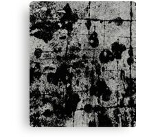 Textured Contrast 1 - Study In Black And White Canvas Print