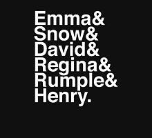 Emma & Snow & David & Regina & Rumple & Henry. (OUAT) (Inverse) Unisex T-Shirt