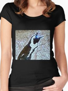 Can't You Hear Me Calling You? Women's Fitted Scoop T-Shirt