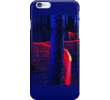 Red Trail Lightpaint iPhone Case/Skin