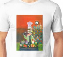 Chef - Day  of the Dead Unisex T-Shirt