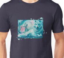 Wolf Dreaming Unisex T-Shirt
