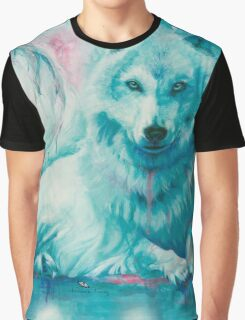 Wolf Dreaming Graphic T-Shirt