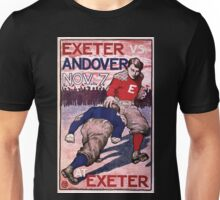 Artist Posters Exeter vs Andover Nov 7 at Exeter BA 0241 Unisex T-Shirt