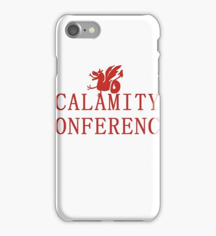 21's- Calamity Conference T-Shirt iPhone Case/Skin