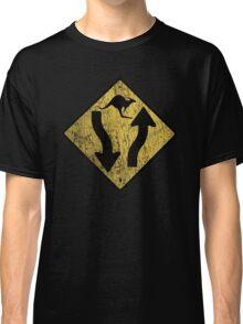 Kangaroo Sign - Urban Grunge Classic T-Shirt