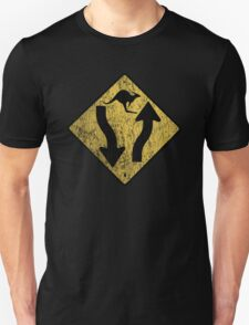 Kangaroo Sign - Urban Grunge T-Shirt