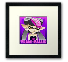 Team Callie Square with Name Framed Print