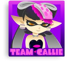 Team Callie Square with Name Canvas Print