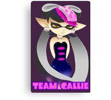 Team Callie with Name Canvas Print