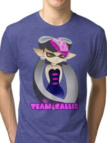 Team Callie with Name Tri-blend T-Shirt