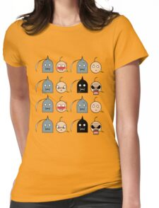 Ed and Al - Chibi expressions Womens Fitted T-Shirt