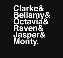 Clarke & Bellamy & Octavia & Raven & Jasper & Monty. (The 100) (Inverse) Unisex T-Shirt