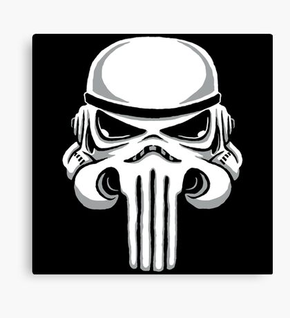 Punish Trooper Canvas Print